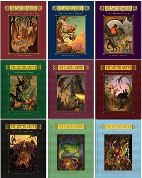 i fairyland book one books grimm series 1 9 hardcover collection the