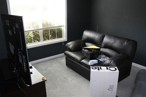 converting  spare bedroom   home theater home