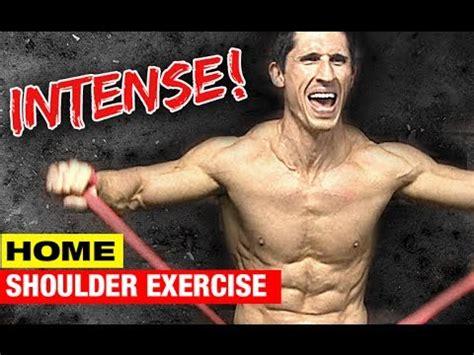 How To Get Bigger Shoulders At Home by Home Shoulder Exercise Side Delt Sizzler