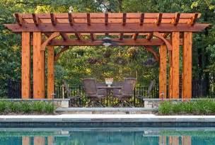 Backyard Landscaping Kids Mclean Amp Great Falls Pergola Porch Amp Pool House Design