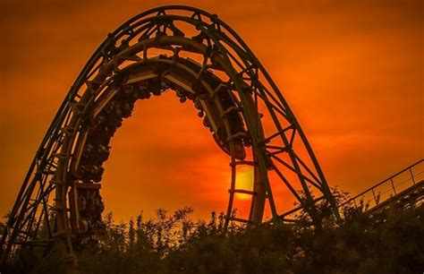 the roller coaster at flambards theme park near helston the world s most thrilling roller coasters