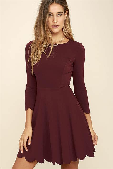 Jv Dress Forest Fit L skater dress sleeve dress fit and flare dress