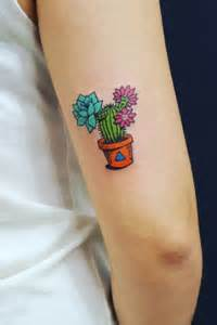 nopal tattoo the colourful cactus s own