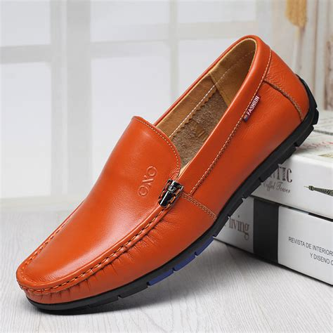 21882 Soft Casual 1 2017 new driving shoes breathable cow leather loafers soft casual shoes fashion