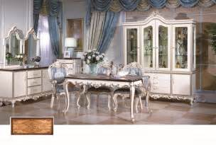 style dining room furniture set solid wood gold