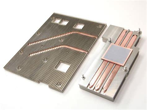 custom copper heat sink custom thermal solutions tennvac