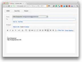 Quick compose w gmail and quicksilver the slow hunch by nick