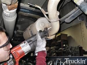 Exhaust System Chevy Silverado Silveradosierra What Muffler Will Fit My Truck