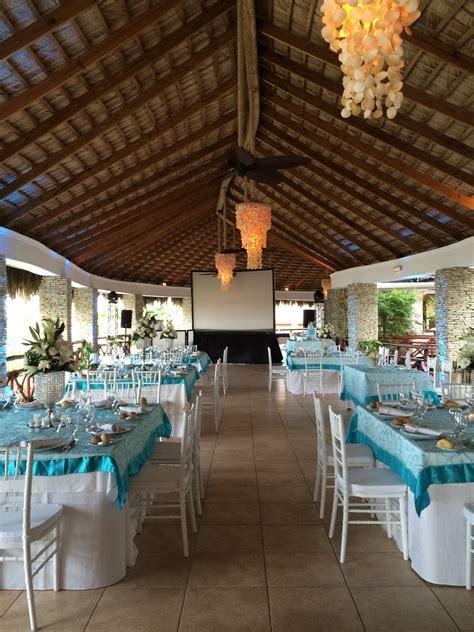 This reception location at Dreams Punta Cana Resort & Spa