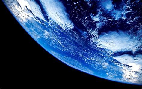 earth space blue wallpapers hd desktop  mobile