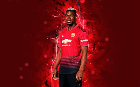 interieur sport paul pogba download wallpapers paul pogba 4k season 2018 2019