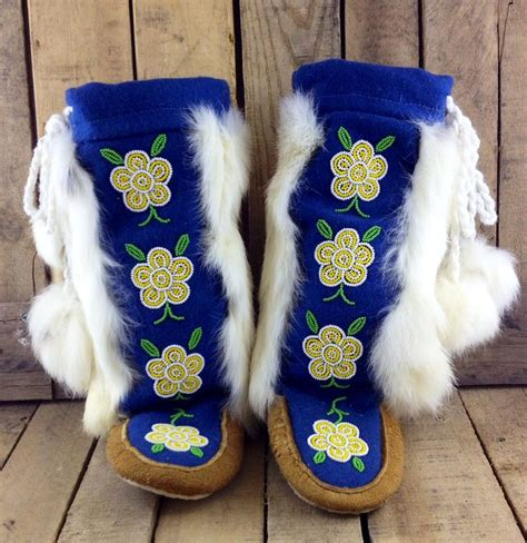Handmade Mukluks - 17 best images about beaded moccasins mukluks on