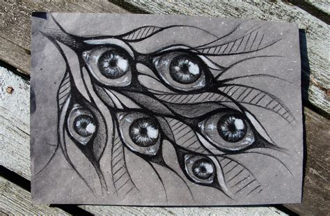 doodle eye psychedelic and fractals favourites by suvetar on