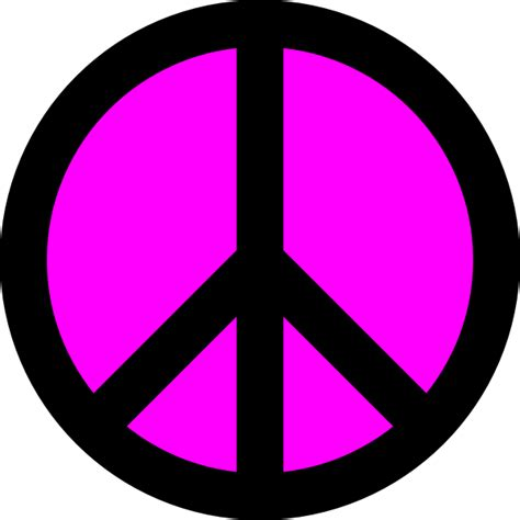 peace sign template cliparts co