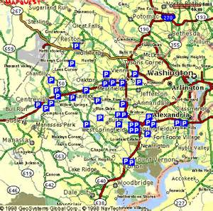 Fairfax Virginia Map by Fairfax County Parkway Map Submited Images