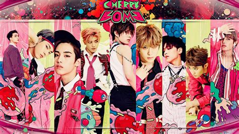 Poster Kpop A4 Nct Taeyong nct 127 cherry bomb wallpaper by yuyo8812 on deviantart