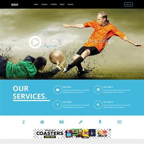 templates bootstrap free sports 51 free bootstrap themes templates
