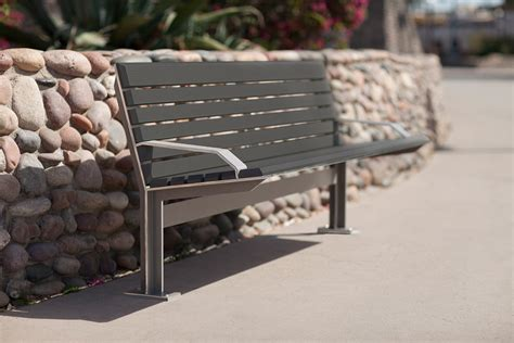 forms and surfaces benches knight bench outdoor forms surfaces