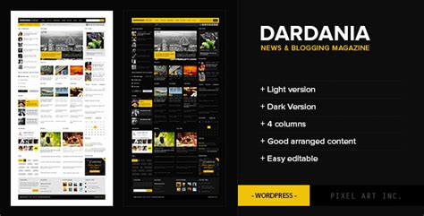 themeforest wplms dardania themeforest wp news theme wordpress themeforest