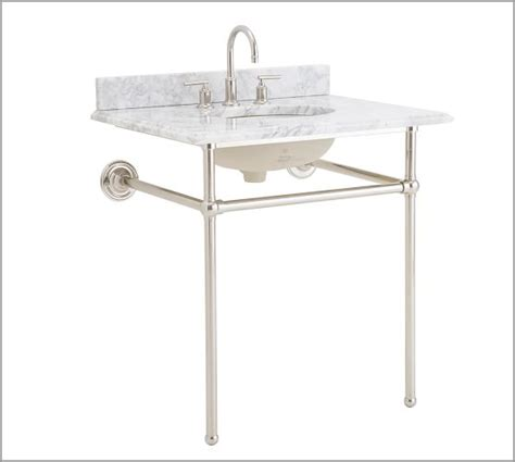 single sink consoles bathroom apothecary single sink console pottery barn