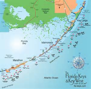 Florida Key Map by The Ultimate Florida Keys Travel Guide Ordinary Traveler