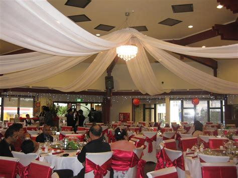 ceiling draping wedding wedding ceiling drapery
