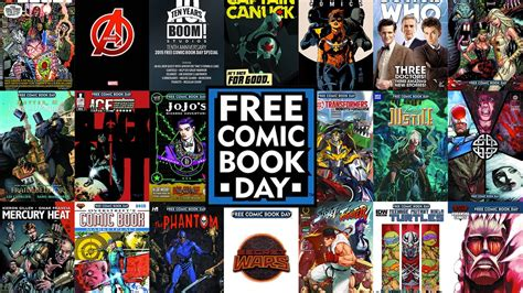 free comics complete free comic book day 2016 line up of titles