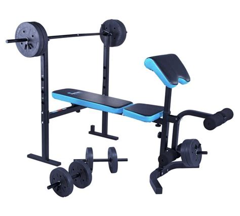 fold away weight bench argos buy men s health folding workout bench with 35kg weights