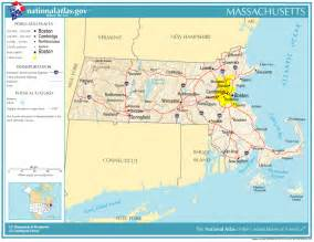 united states geography for massachusetts