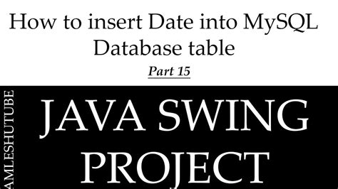 how to format mysql date in java 15 how to insert date into mysql database table in java