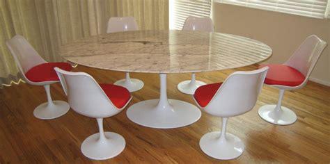 saarinen 78 oval table saarinen dining table 78 quot oval marble