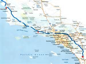 california pacific coast highway map pacific coast part 2