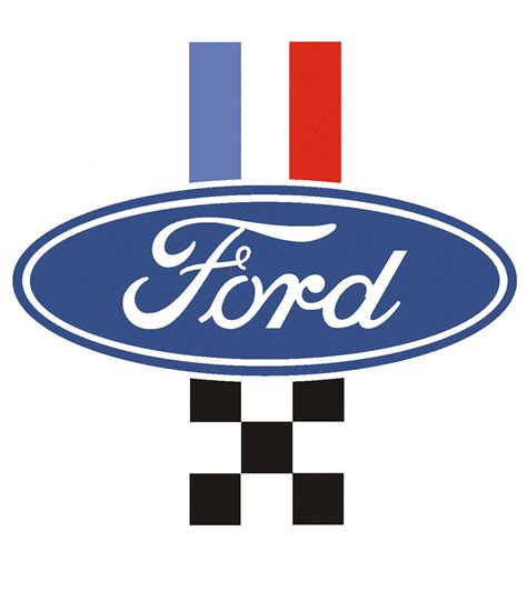 logo ford built ford tough logo vector image 141