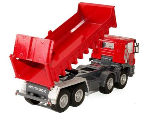 Diecast Automaxx Dump Truck 160 1 60 scale diecast dump truck nt01t008 eztrucktoys