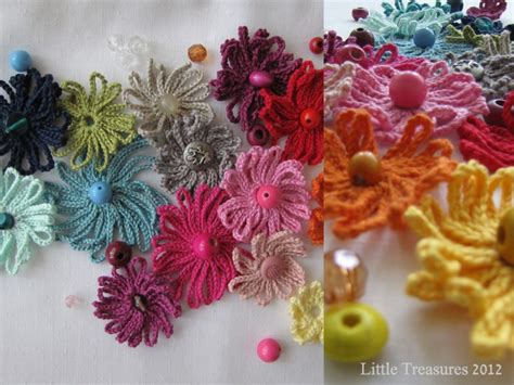 Pdf Flower Nyc by Treasures Pdf Pattern For Crocheted Flowers In The