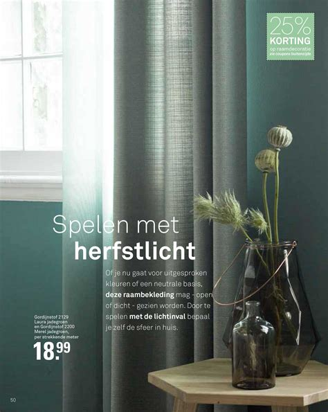 gordijnstof in between karwei gordijnen groen inbetween for the home
