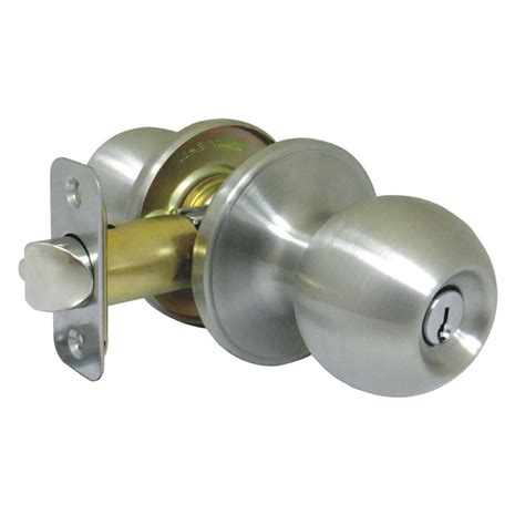 faultless polished brass entry knob t3700b f the
