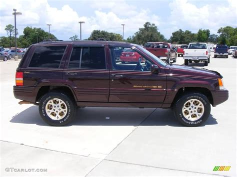 Jeep Grand Limited Colors 1997 Rosewood Pearl Jeep Grand Limited 4x4