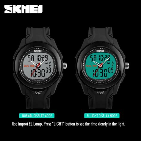 Skmei Jam Tangan Analog Digital Pria Wanita Ad0821 Anti Air skmei jam tangan digital analog pria ad1157 black