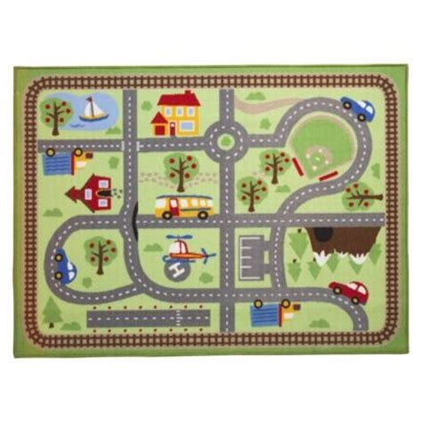 activity rug circo road activity mat area rug 40x54 for