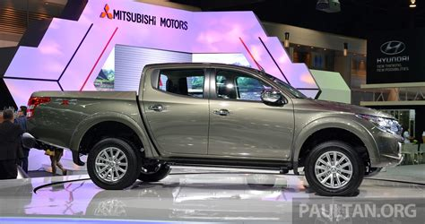 mitsubishi triton 2014 all new mitsubishi triton 2014 thailand autos post