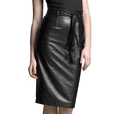 some suggestions on how to choose black pencil skirts