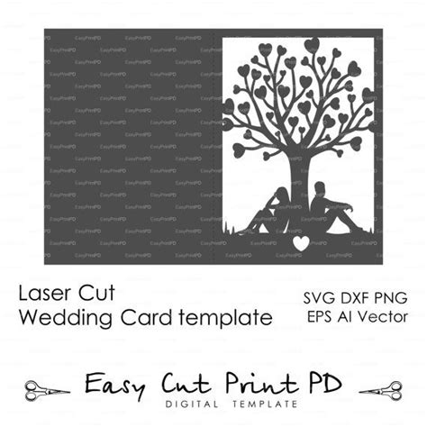 How To Create Wedding Card Template For Silhouette by 246 Best Wedding Invitation Templates Cutting Files Svg