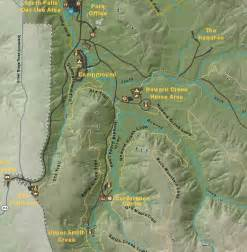 silver falls oregon map howard creek c silver falls state park