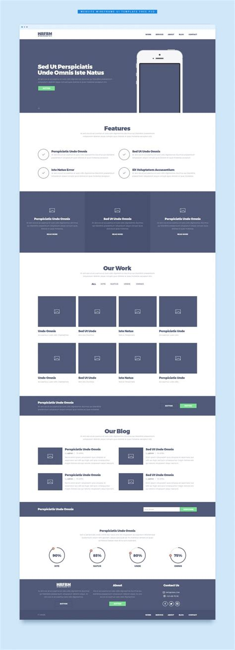 gui design price plan table with multiple payment options user website wireframe ui template free psd download download psd