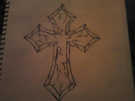 stone cross tattoo designs cross stencil pictures to pin on