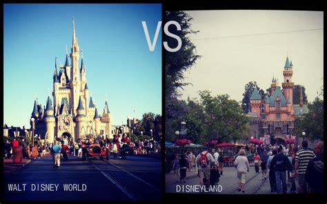 the better disney disney world vs disney land smackdown disneyland vs walt disney world what s the difference