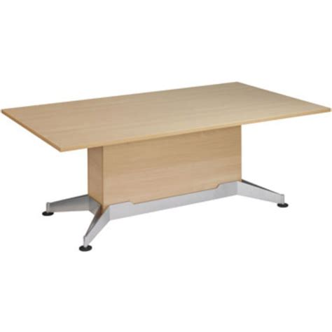 Beech Boardroom Table Hagen Rectangular Boardroom Table Beech Staples 174