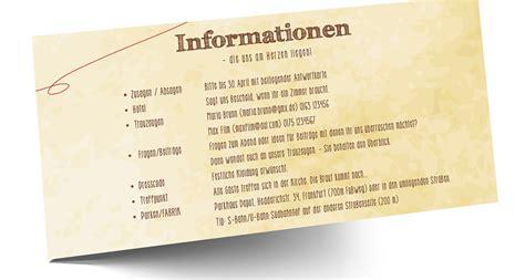 Hochzeitseinladung Infoblatt by Formulierungshilfen F 252 R Die Hochzeitsorganisation