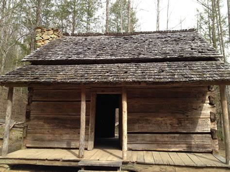 Historic Log Cabin Construction by An Axe And A Few Poplar Trees Handmade Houses With